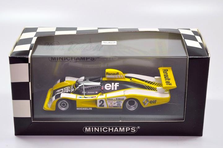 Minichamps 430781102 Renault Alpine A442B #2 'Pironi - Jassaud' 1st pl Le  Mans 1978