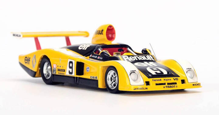 spark model s1555 renault alpine a442 9 jean pierre jabouille derek bell le mans 1977. Black Bedroom Furniture Sets. Home Design Ideas