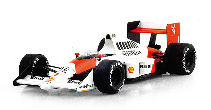 truescale miniatures tsm models tsm154336 mclaren honda mp4 5 1 39 ayrton senna 39 winner german. Black Bedroom Furniture Sets. Home Design Ideas