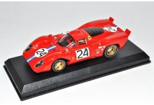Best Model 9153 Ferrari 312P #24 'Mike Parkes - Sam Posey' 4th pl 24 hrs of Daytona 1970