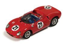 IXO Models LM1963 Ferrari 250 P #21 'Ludovico Scarfiotti - Lorenzo Bandini' winner Le Mans 1963