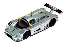 IXO Models LM1989 Sauber Mercedes C-9 #63 'Jochen Mass - Manuel Reuter - Stanley Dickens' winner Le Mans 1989