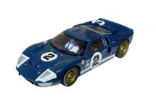 Scalextric C3066 Ford GT40 Mk II #2 'Dan Gurney - Jerry Grant' 12 hrs of Sebring 1966