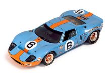IXO Models LM1969 Ford GT40 Gulf #6 'Jacky Ickx - Jackie Oliver' winner Le Mans 1969