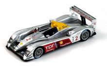 "Spark Model S0678 Audi R10 TDI #2 ""Rinaldo Capello - Tom Kristensen - Allan McNish"" winner 12 hrs of Sebring 2006"