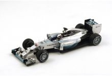 "Spark Model 18S138 Mercedes F1 W05 #44 ""Lewis Hamilton"" Winner Grand Prix of China 2014"