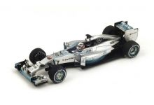 "Spark Model S3141 Mercedes F1 W05 #44 ""Hamilton"" Winner Italian GP & F1 World Champion 2014"