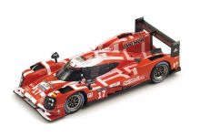 "Spark Model S4638 Porsche 919 Hybrid #17 LMP1 Porsche Team ""Bernhard - Webber - Hartley"" 2nd pl Le Mans 2015"