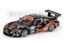 """Minichamps 400056981 Porsche GT3RS #91 T2M Motorsport """"Yutaka Yamagashi - Xavier Pompidou - Jean-Luc Blanchemain"""" Le Mans 2005"""