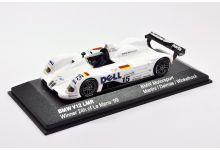 "Minichamps 80429418138 BMW V12 LMR #15 ""Jochim Winkelhock - Yannick Dalmas - Pierluigi Martini"" winner Le Mans 1999"