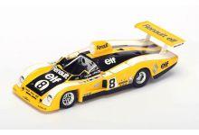 """Spark Model S1554 Renault-Alpine A442 #8 """"Patrick Depailler - Jacques Laffite"""" Le Mans 1977"""
