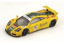 "Spark Model S4404 McLaren F1 GTR #29 Harrods Mach One Racing ""Derek Bell - Olivier Grouillard - Andy Wallace"" 6th pl Le Mans 1996"
