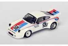 "Spark Model S4414 Porsche 911 RSR #59 Brumos Porsche ""Peter Gregg"" Trans Am Champion 1974"