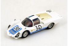 """Spark Model S4486 Porsche 906/6L #30 """"Jo Siffert - Colin Davis"""" 4th pl Le Mans 1966"""