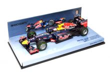 Minichamps 410120101 Red Bull Racing Renault RB8 #1 'Sebastian Vettel' 4th pl GP of Brazil & F1 World Champion 2012