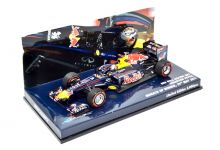 Minichamps 413110401 Red Bull Racing RB7 #1 'Sebastian Vettel' winner Grand Prix of Monaco & F1 World Champion 2011