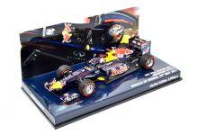 Minichamps 413110401 Red Bull Racing RB7 #1 'Sebastian Vettel' winner Grand Prix of Monaco & F1 World Champion 2011