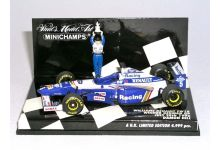 "Minichamps 433960205 Williams Renault FW18 ""Damon Hill"" 1st pl. Grand Prix Germany & F1 World Champion 1996"