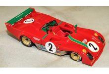 Marsh Models MM272B2M Ferrari 312PB #2 'Carlos Pace - Arturo Merzario' Monza 1000 Km 1973