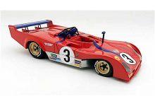 Marsh Models MM272B3M Ferrari 312PB #3 'Tim Schenken - Carlos Reutemann' 2nd pl Monza 1000 Km 1973