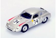 Spark Model S1876 Porsche 356B Abarth #34 'Edgar Barth - Hans Herrmann' 7th pl Le Mans 1962