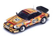 """Spark Model S4423 Porsche 930 Bravo #62 'Christian Bussi - """"Ségolen"""" (A. Gahinet) - Jean-Claude Briavoine' 17th pl Le Mans 1978"""
