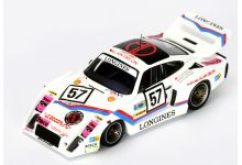 Spark Model S4425 Porsche 935 #57 'Claude Haldi - Mark Thatcher - Hervé Poulain' Le Mans 1981