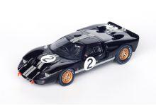 Spark Model 43LM66 Ford GT40 MkII #2 'Chris Amon - Bruce McLaren' winner Le Mans 1966
