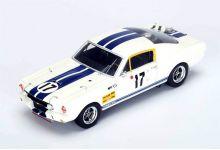 "park Model S2635 Ford Mustang GT350 #17 ""Claude Dubois - Chris Tuerlinckx"" DNF Le Mans 1967"