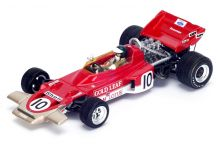 Spark Model S4280 Lotus 72C #10 Gold Leaf 'Jochen Rindt' Winner Dutch GP & F1 World Champion 1970