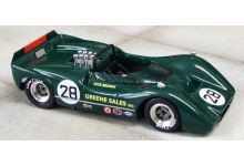 Marsh Models MM277B28 McLaren M6B #28 'Dick Brown' 5th pl Can-Am Bridgehampton 1968
