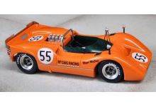 Marsh Models MM277B55 McLaren M6B #55 'John Cordts' 5th pl Can-Am Mont-Tremblant 1969