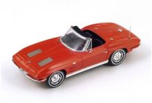 Spark Model S2969 Chevrolet Corvette C2 Sting Ray Convertible 1963