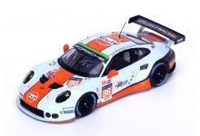 Spark Model S5141 Porsche 911 RSR #86 'Michael Wainwright - Adam Carroll - Adam Barker' LMGTE Am 33rd pl Le Mans 2016