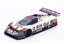 Spark Model 43LM88 Jaguar XJR9 Silk Cut #2 'Jan Lammers - Johnny Dumfries - Andy Wallace' winner Le Mans 1988