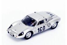 Spark Model 43TF63 Porsche 718 GTR #160 'Jo Bonnier - Carlo Mario Abate' Winner Targa Florio 1963