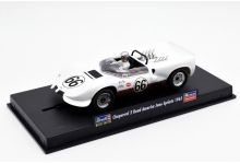 Monogram 85-4883 Chaparral 2 #66 'Jim Hall' 1st pl' Road America Sprints 1965
