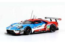 IXO Models LMM247 Ford GT IMSA #68 Ford Chip Ganassi Team USA 'Joey Hand - Dirk Müller - Sebastien Bourdais' Winner GTE Pro cl, 18th pl oa Le Mans 2016