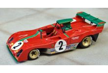 Marsh Models MM282B2NB Ferrari 312 PB #10 'Carlos Pace - Arturo Merzario' 2nd pl 1000 kms Nurburgring 1973