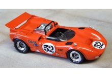 Marsh Models MM283B52 McLaren M1C #52 Dana Chevrolet Racing 'Peter Revson' 3rd pl USRRC Riverside 1967