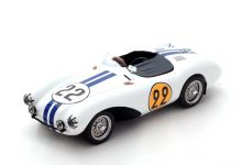 Spark Model S2437 Aston Martin DB3 S #22 'Carroll Shelby - Paul Frére' Le Mans 1954
