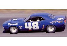Spark Model S3610 Plymouth Cuda AAR #48 'Dan Gurney' Trans-Am 1970