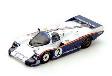 Spark Model S5504 Porsche 956 L #2 Rothmans 'Jochen Mass - Stefan Bellof' Le Mans 1983