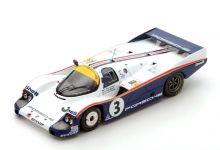 Spark Model 43LM83 Porsche 956 Rothmans #3 'Vern Schuppan - Al Holbert - Hurley Haywood' winner Le Mans 1983