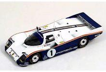 Spark Model S0923 Porsche 962C Rothmans #1 'Hans Stuck - Derek Bell - Al Holbert' winner Le Mans 1986