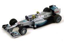 Spark Model S3043 Mercedes AMG W03 'Nico Rosberg' Winner Chinese Grand Prix 2012