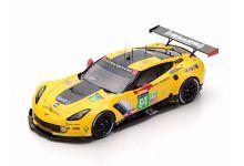 Spark Model S5132 Chevrolet Corvette C7.R #64 'Oliver Gavin - Tommy Milner - Jordan Taylor' LMGTE Pro Le Mans 2016