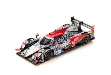 Spark Model S5824 Oreca 07 ‐ Gibson #38 - Jackie Chan DC Racing 'H‐P. Tung - T. Laurent - O. Jarvis' 2nd pl oa, winner LMP2 cl Le Mans 2017