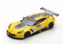 Spark Model S5832 Chevrolet Corvette C7.R #64 'Oliver Gavin - Tommy Milner - Marcel Fassler' 24th pl LMGTE Pro Le Mans 2017