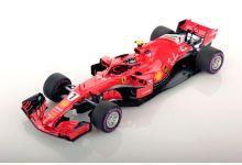 Look Smart Models LSF1014 Ferrari SF71H #7 'Kimi Raikkonen' 3rd pl Australian Grand Prix 2018